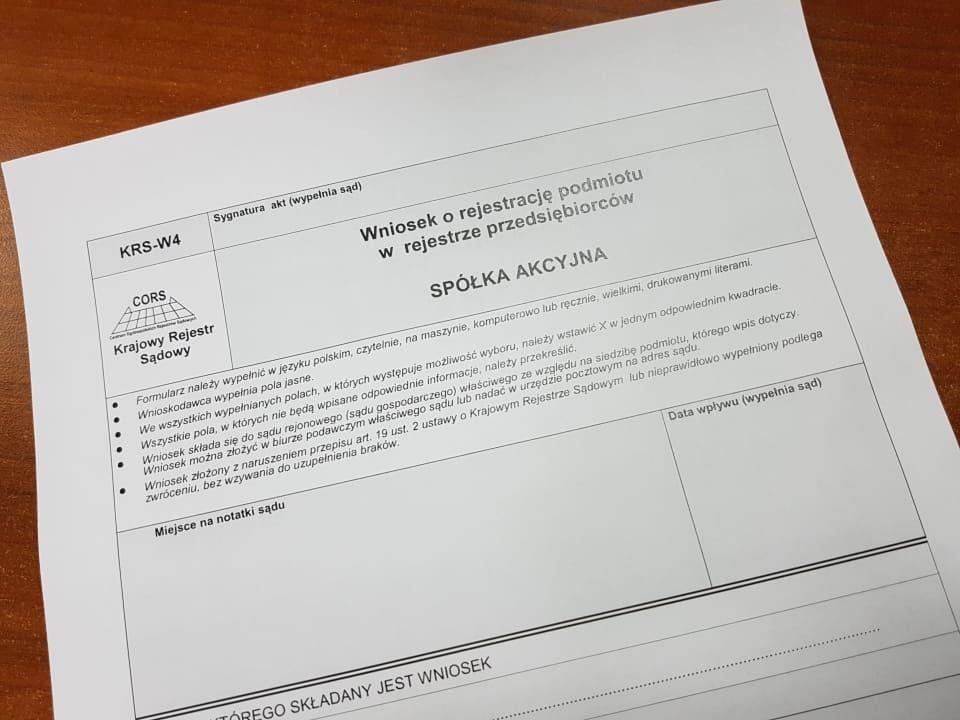 Przekształcenie Sp. zo.o. wSpółkę Akcyjną
